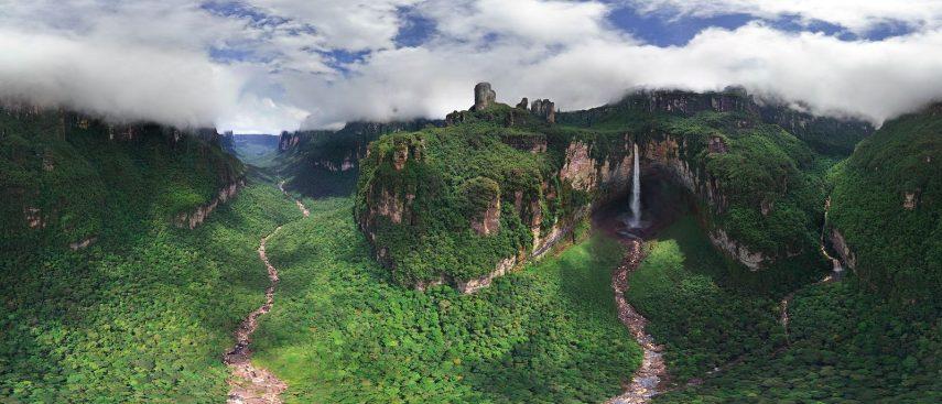 водопад анхель, туры в венесуэлу