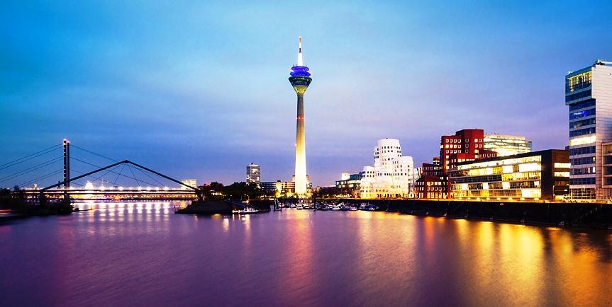 Путешествие на майские в Дюссельдорф и Франкфурт!