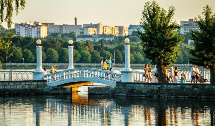 Файный город Тернополь + замки из Киева