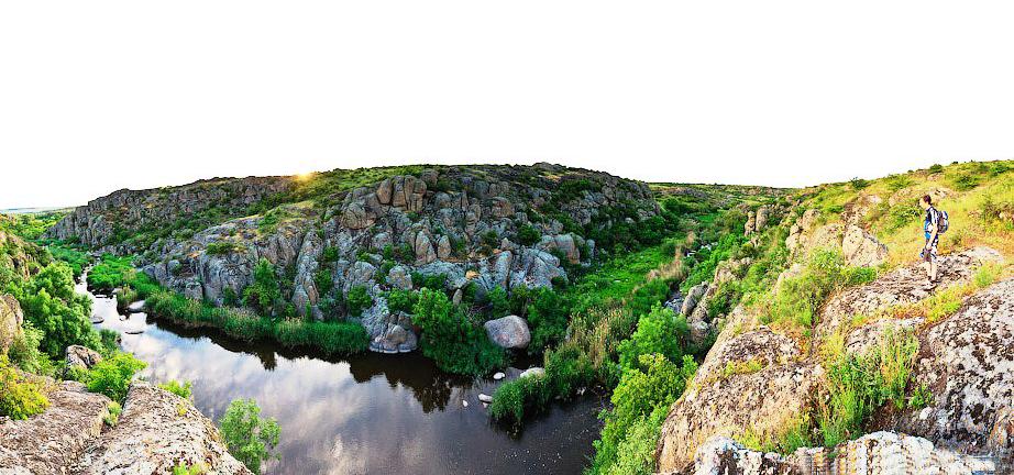 Удивительная Николаевщина — тур в Актовский каньон