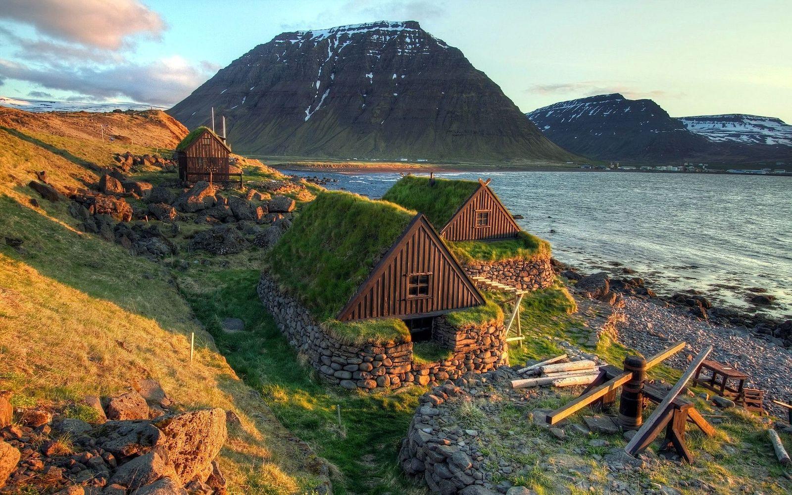 Первая встреча с Исландией
