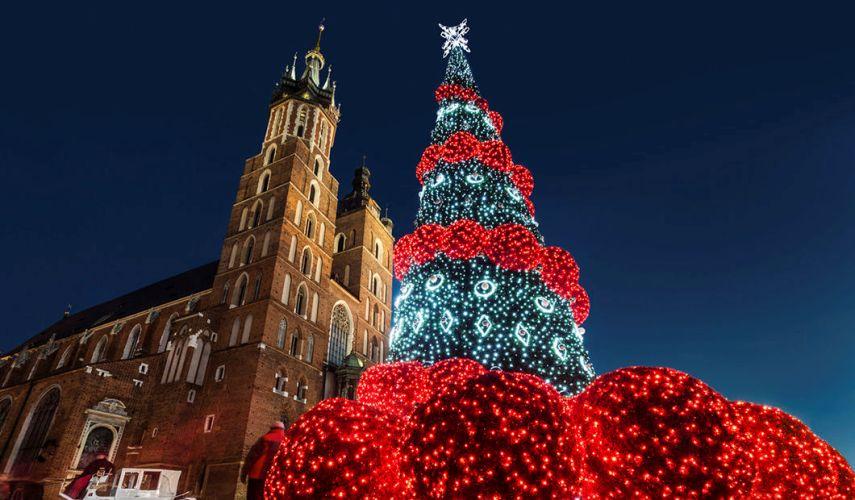 Авиа тур на Новый год в Краков! От 198 евро