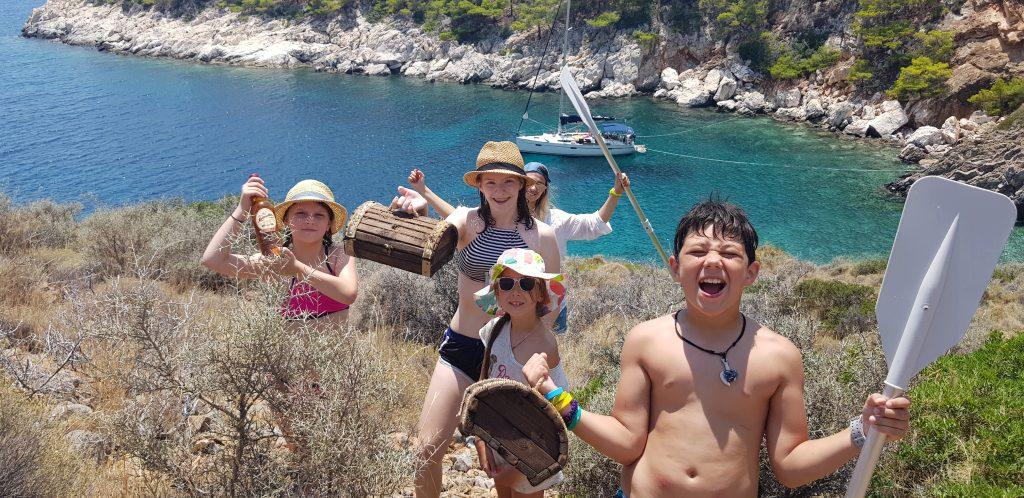 Яхтинг в греции поиск клада