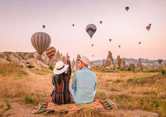 Выходные в Каппадокии (Турция). Полет на воздушном шаре по программе!