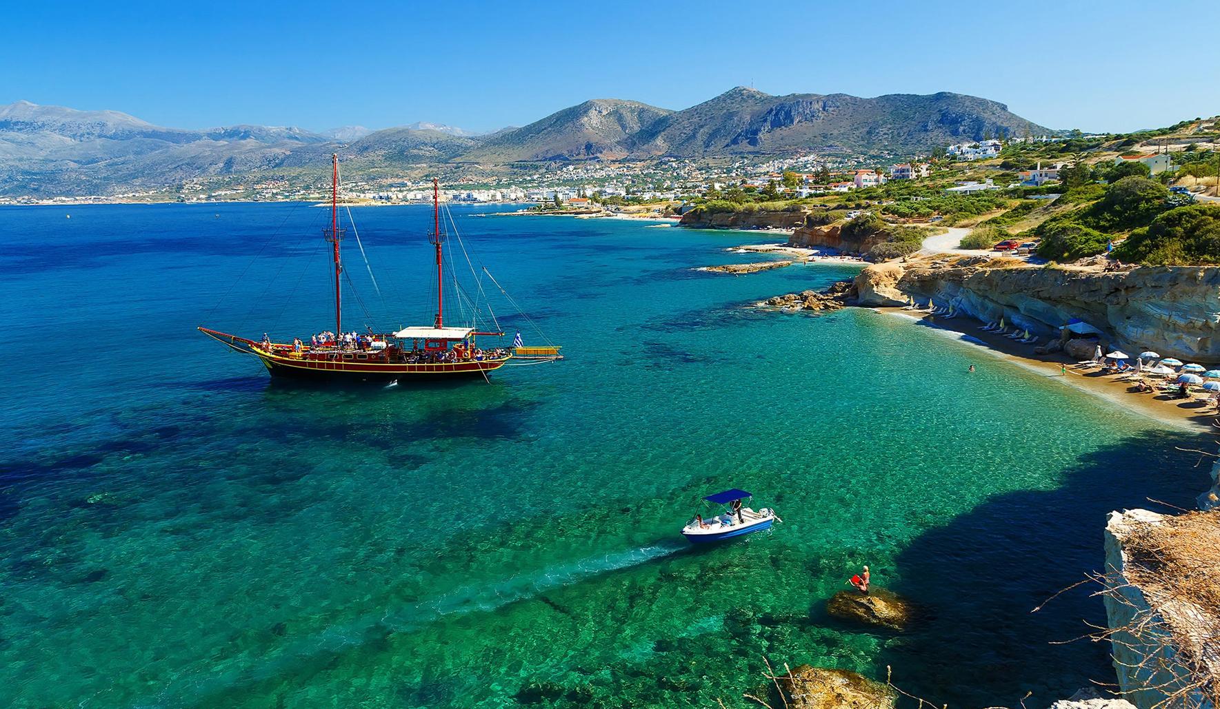 Остров Крит с перелетом и питанием из Киева от 302 евро с человека