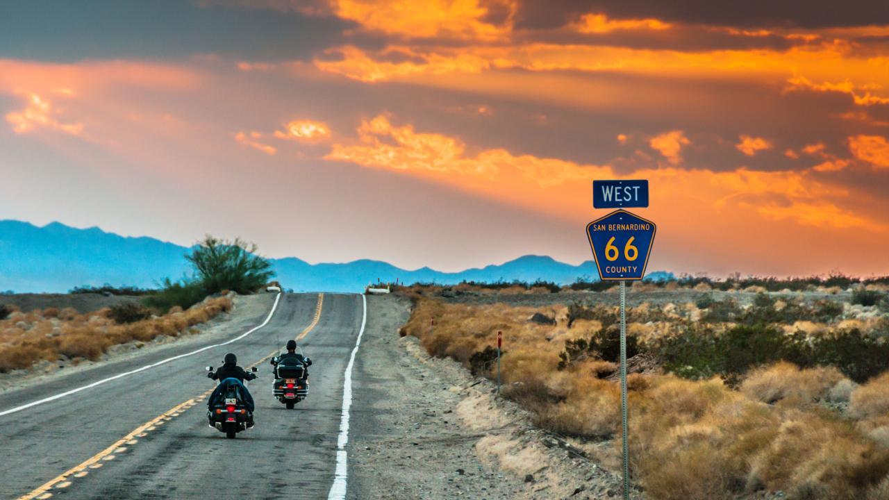 Чикаго + Дорога 66 до Калифорнии