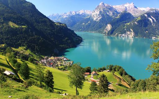 Швейцария открыла границы для туристов из Украины!