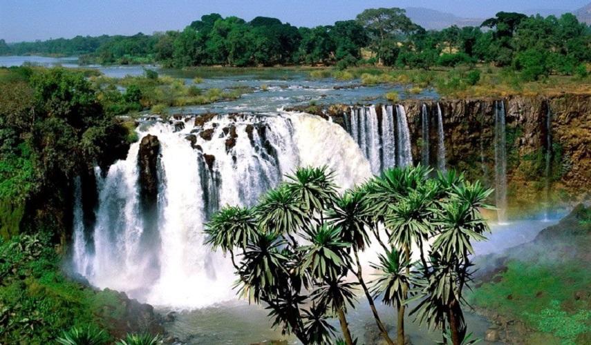 Водопады и вулканы Камеруна