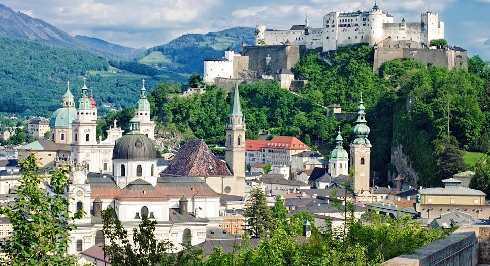 На неделю в Мюнхен + Вена и Зальцбург и альпийские замки