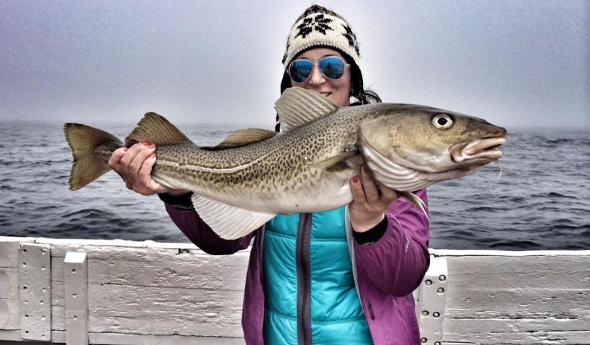 Морская рыбалка в Северо-Западной Исландии Рейкьявик