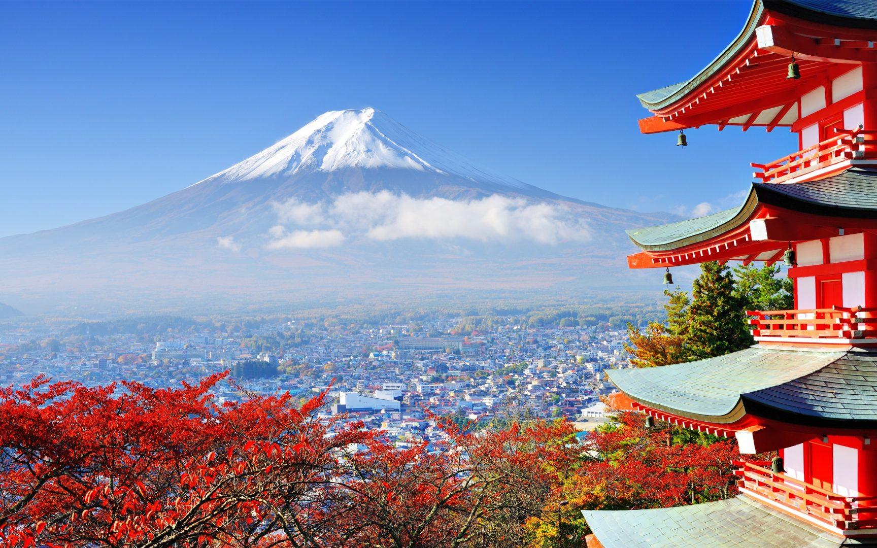 Неделя в Японии (восхождение на Фудзи по программе)