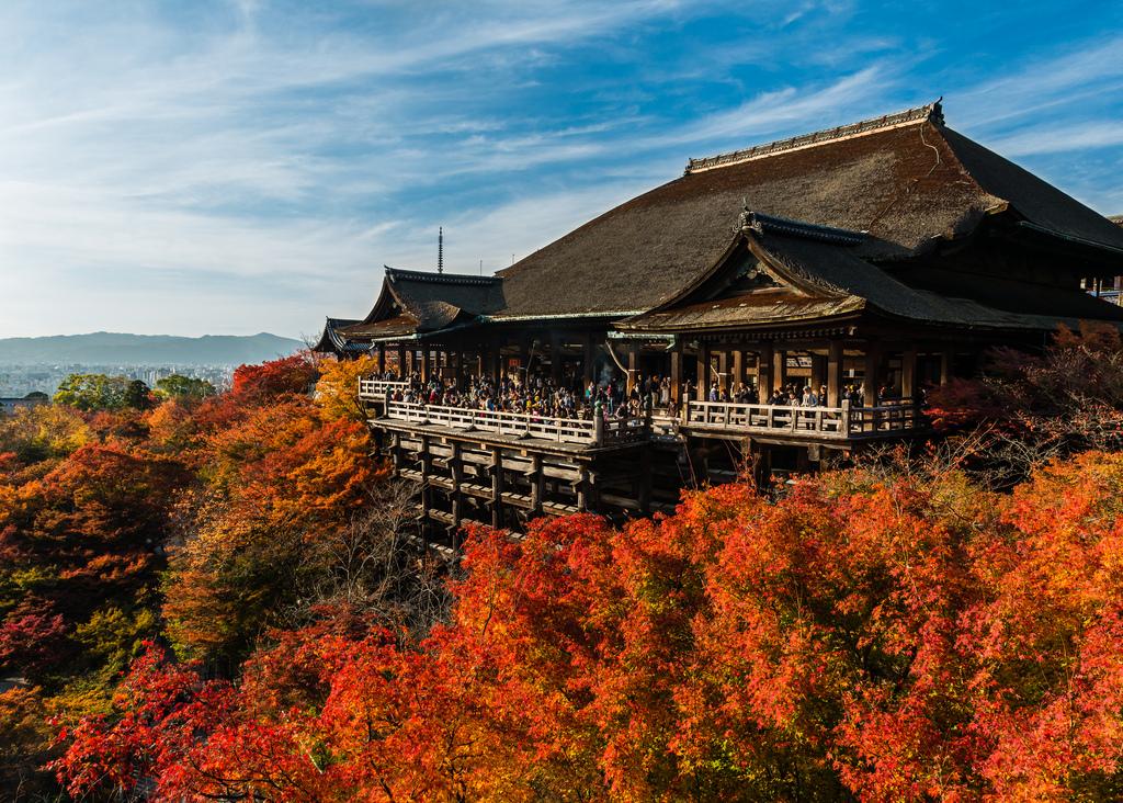 Осень 2019 в Японии
