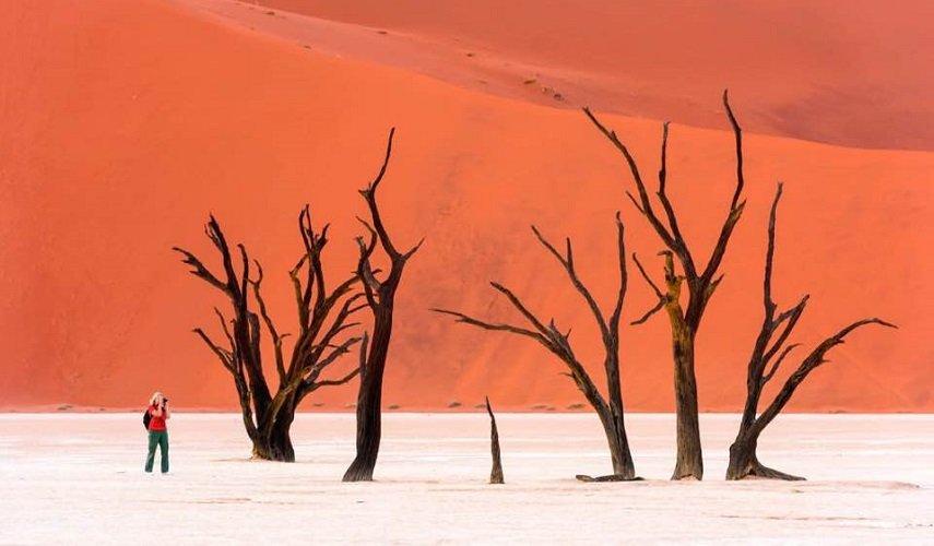 Исследуя Намибию