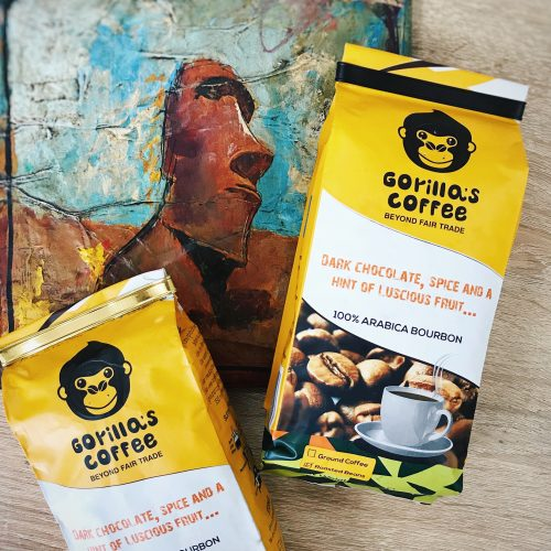 Gorillas ECO coffee в Украине