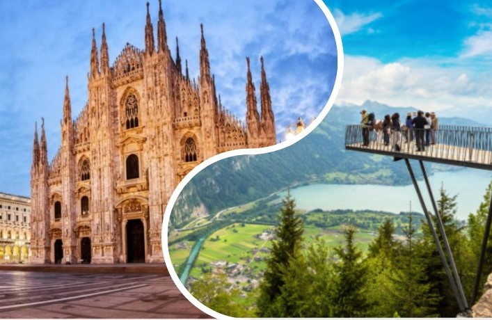 Италия и Швейцария в одном туре
