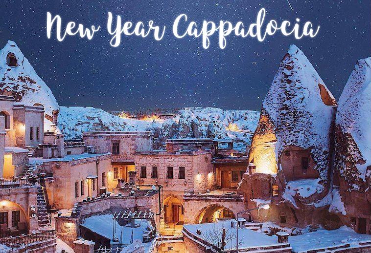 Новий рік та Різдво в Каппадокії