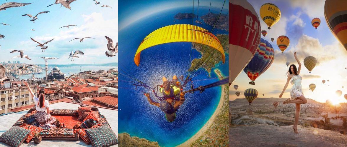 ТОП Турции в одном туре: Стамбул, Олюдениз и Каппадокия!