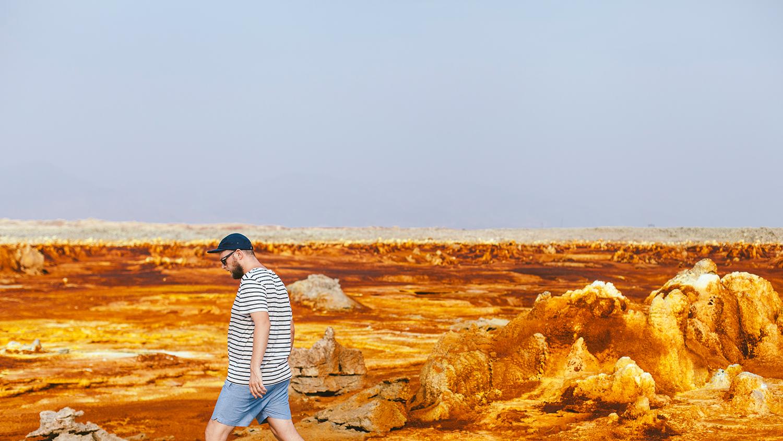 Горы Сымен (Семиен), пустыни и вулканы Данакиля + пляжи Джибути