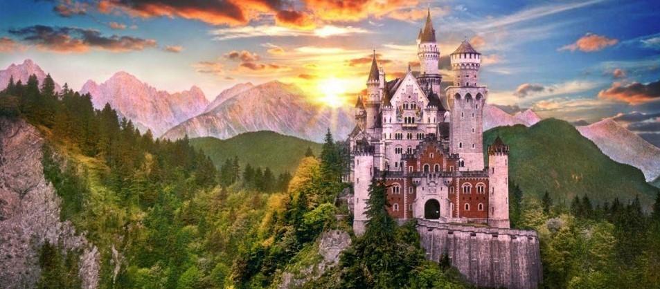 Неделя в Мюнхене + альпийские замки (8 дней/7 ночей)