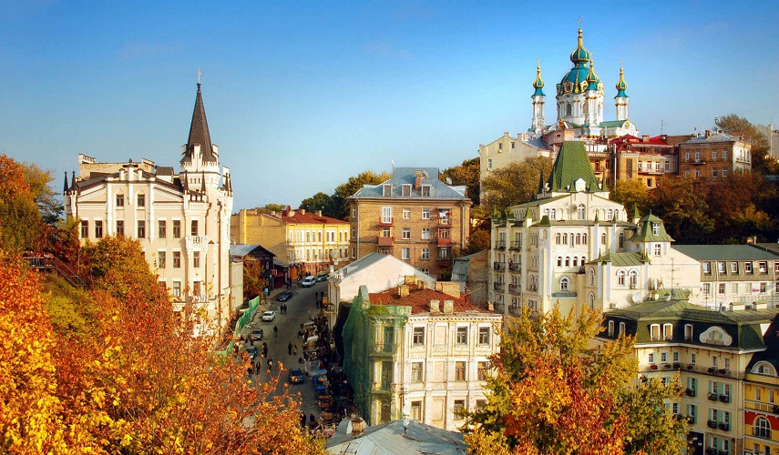 Weekend in Kiev  (the most popular tour)