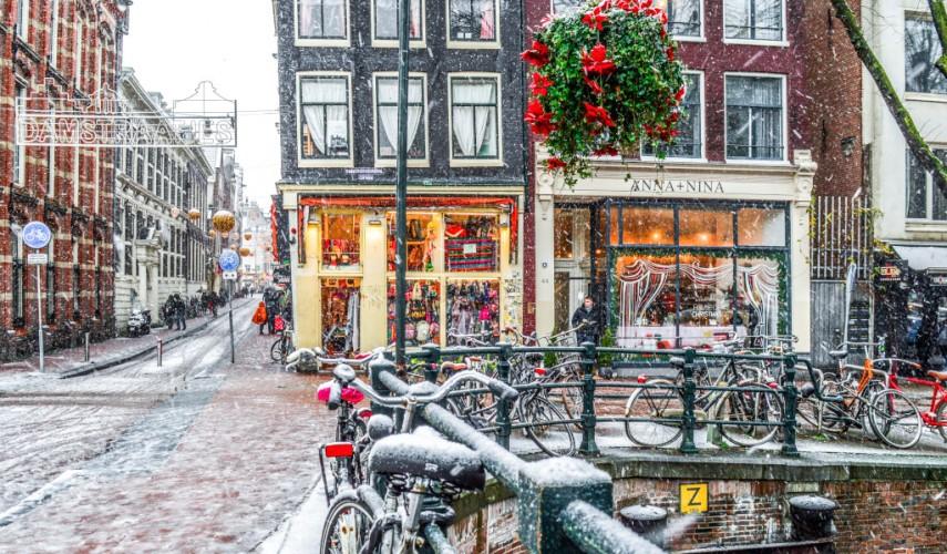 Новый Год в Амстердаме и Париж! Автобусный тур