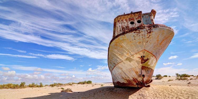 Аральское море и оазис древних городов