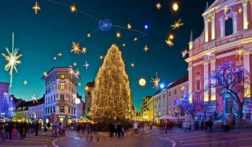 Новый год в Сказке – Словения! Авиа тур