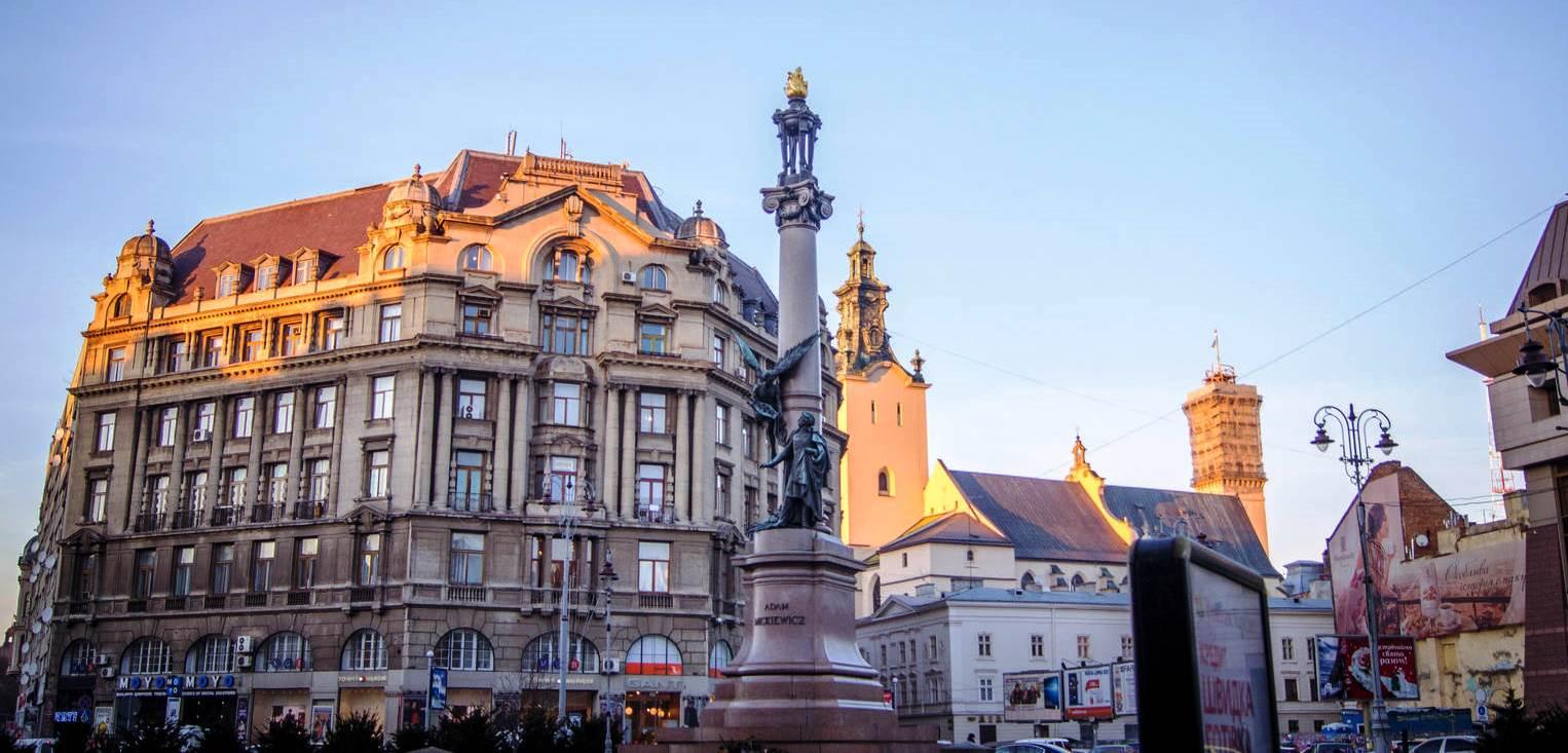 Новый год и Рождество во Львове – автобус из Киева!