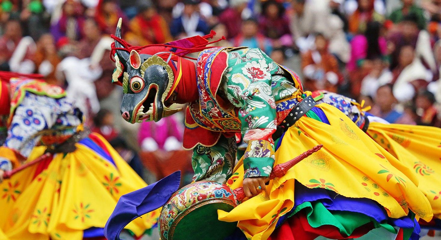 Фестивальный Бутан на 8 марта