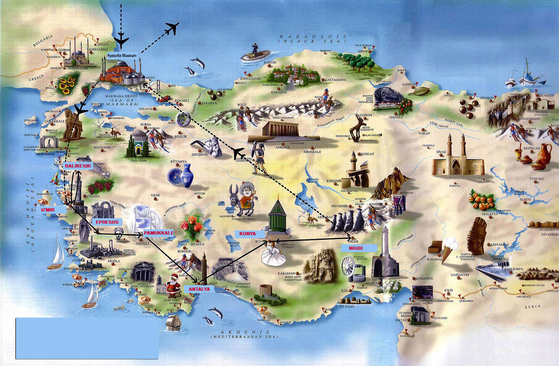 Античное ожерелье Турции  – групповой тур