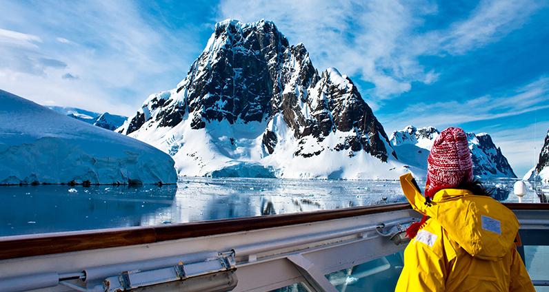 Пересекая полярный круг на борту Ocean Diamond, Ortelius