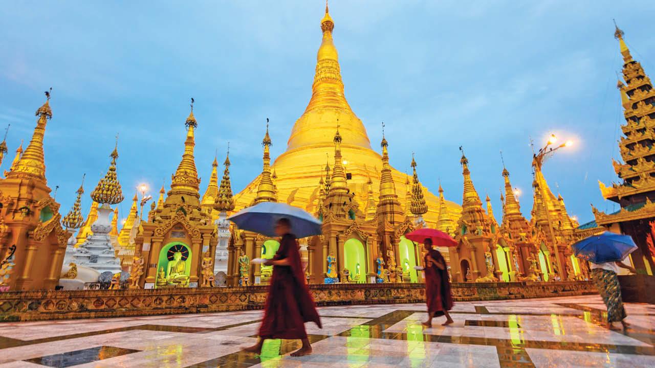 Cолнечные истории о Мьянме (7 дней/6 ночей)