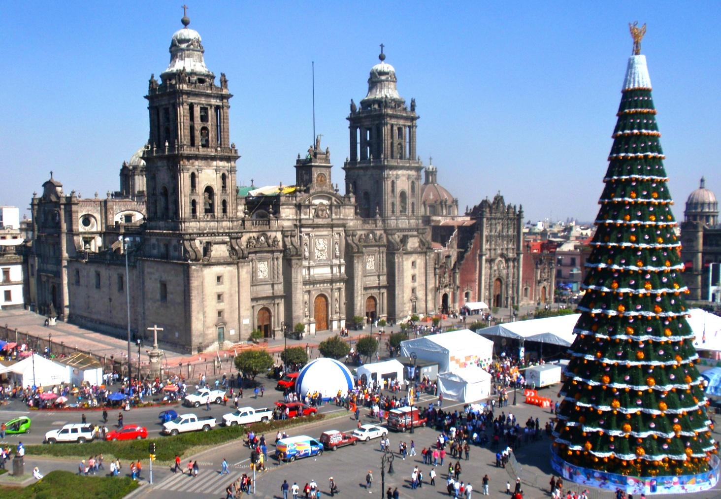 Четыре культуры Мексики на Новый год!