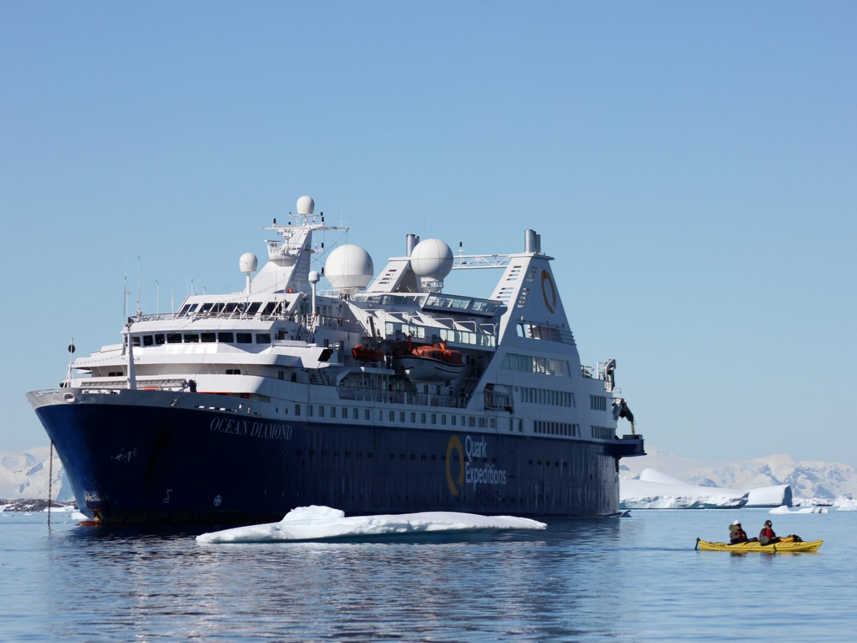 Пересекая полярный круг на борту судна – Ocean Diamond