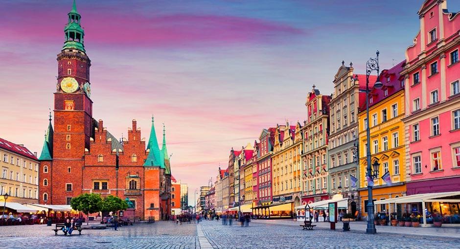 Неделя во Вроцлаве, Дрездене, Праге под Wizz air!