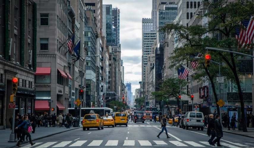 Неделя в Нью-Йорке!