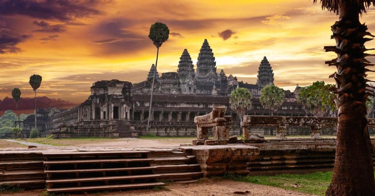 Выходные в Ангкор-Вате + танцы Апсара