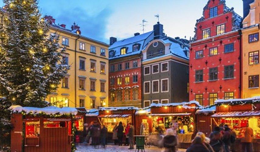 Авиа тур в Стокгольм на Новый год! Раннее бронирование до 30.09.19