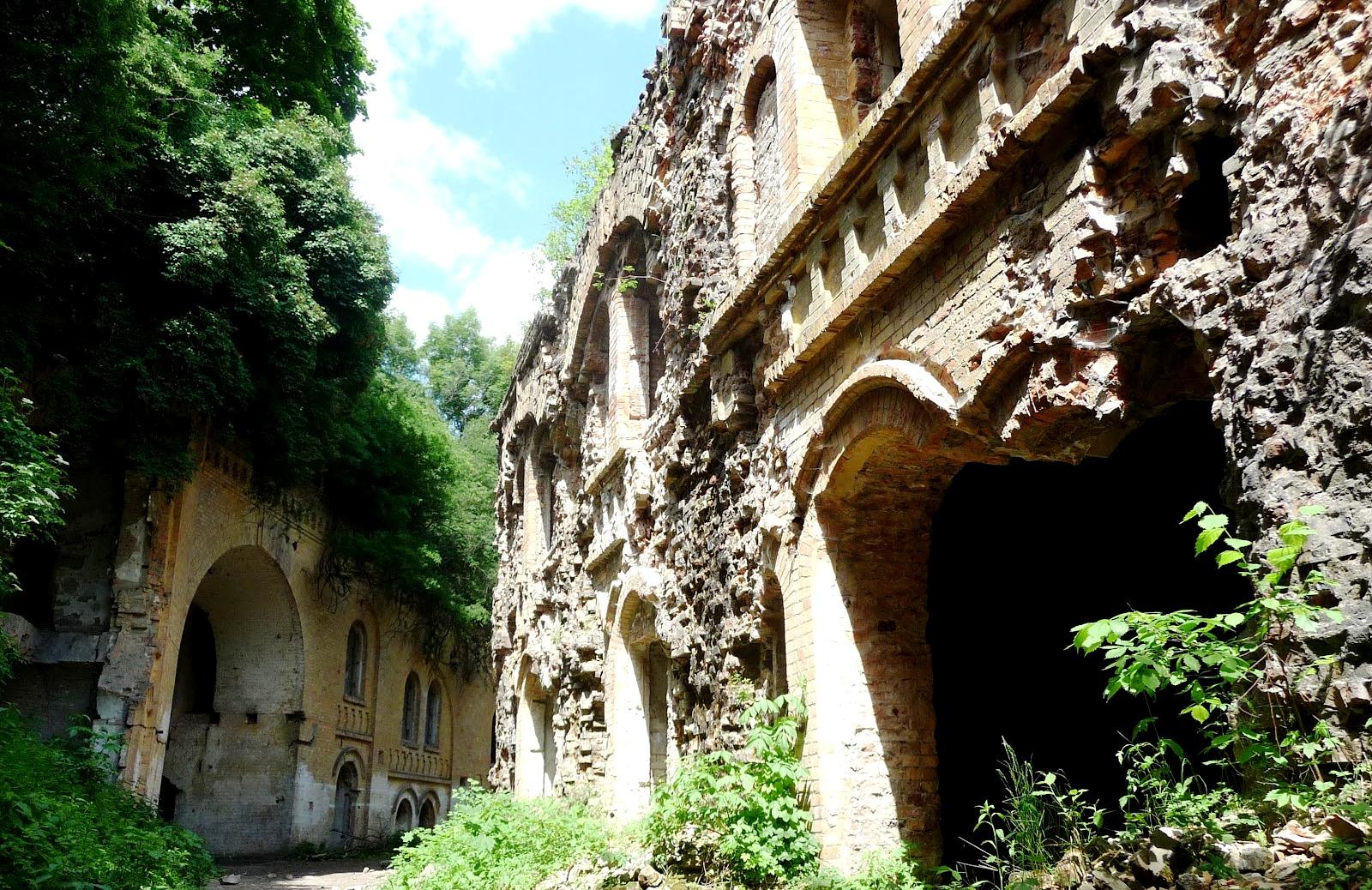Замки Волыни и тоннель любви
