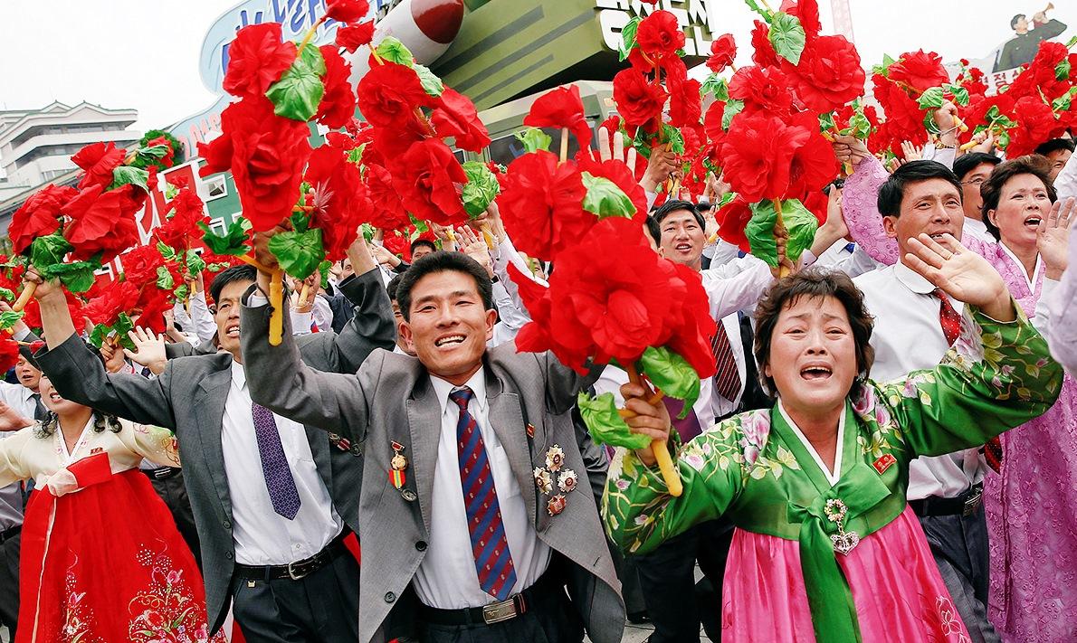 День труда – майские в Северной Корее!